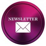Newsletter icon — Stock Photo #34518343