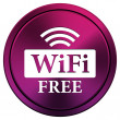 WIFI free icon — Stockfoto