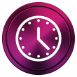 Clock icon — Stock Photo #34517577