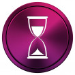 Hourglass icon — Stockfoto
