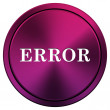 Error icon — Foto de Stock