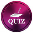 Quiz icon — Foto de Stock