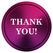 Thank you icon — Stockfoto