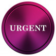 Urgent icon — Stock fotografie