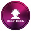 Helpdesk icon — Stock Photo