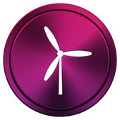 Windmill icon — Stock Photo