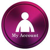 My account icon — Stock Photo
