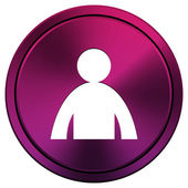 User profile icon — Stock Photo