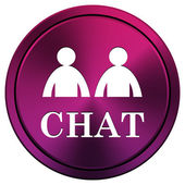 Chat icon — Stock Photo