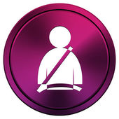 Safety belt icon — Stockfoto
