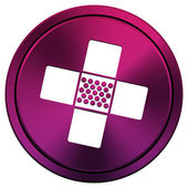 Medical patch icon — Foto de Stock