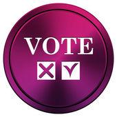 Vote icon — Stock Photo