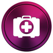 Medical bag icon — Foto de Stock