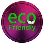 Eco amigável ícone — Fotografia Stock