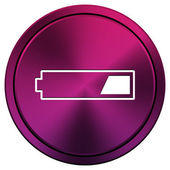 1 third charged battery icon — Stock Photo