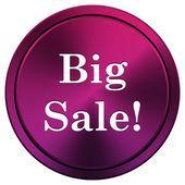 Big sale icon — Stock Photo