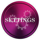 Settings icon — Foto de Stock