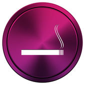 Cigarette icon — Stock Photo