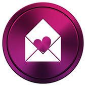 Send love icon — Stock fotografie