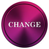 Change icon — Stock Photo