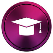 Graduation icon — Stock Photo