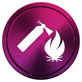 Fire icon — Stock Photo