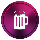 Beer icon — Foto de Stock
