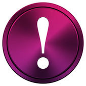 Attention icon — Stock Photo