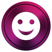 Smiley icon — Stock fotografie