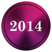 2014 icon — Stock Photo