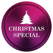 рождественский специальный значок — Стоковое фото