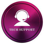 Tech support icon — Stock Photo