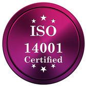 Ikona iso14001 — Zdjęcie stockowe