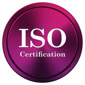 ISO certification — 图库照片