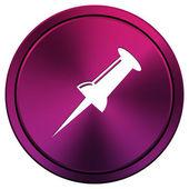 Pin icon — Stock Photo