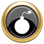 Bomb icon — Stock Photo #34727363