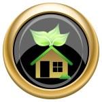 Eco house icon — Stock Photo #34729331