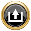 Upload icon — Stock Photo