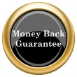 Money back guarantee icon — Stock Photo #34727081