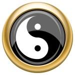 Ying yang icon — Stock Photo #34727375