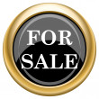 For sale icon — Stockfoto