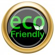 Eco Friendly icon — Stock Photo #34728043