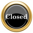 Closed icon — Stock Photo