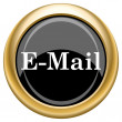 E-mail icon — Stock Photo #34728659
