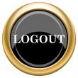 Logout icon — Stock fotografie