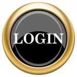 Login icon — Stock Photo #34728789