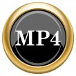 Stock Photo: MP4 icon