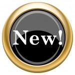 New icon — Stock Photo #34728841