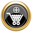 Add to shopping cart icon — 图库照片 #34729075