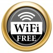 Stock Photo: WIFI free icon